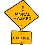 Moral hazard assignment